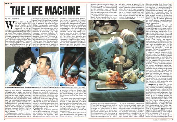 Article Preview: THE LIFE MACHINE, December 1984 | Maclean's