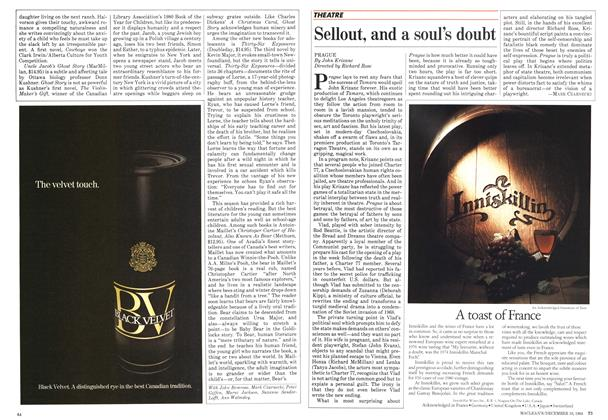 Article Preview: Sellout, and a soul's doubt, December 1984 | Maclean's