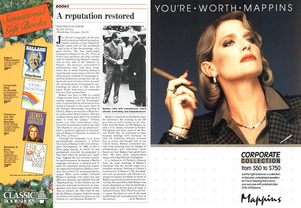 Article Preview: A reputation restored, December 1984 | Maclean's