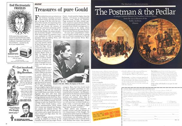 Article Preview: Treasures of pure Gould, December 1984 | Maclean's