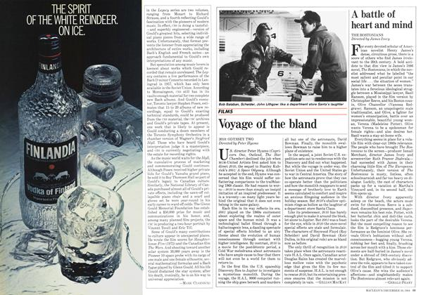 Article Preview: Voyage of the bland, December 1984 | Maclean's