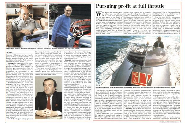 Article Preview: Pursuing profit at full throttle, December 1984 | Maclean's
