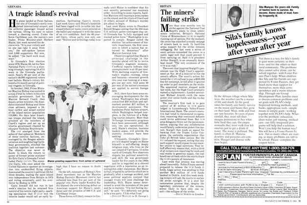 Article Preview: The miners' failing strike, December 1984   Maclean's