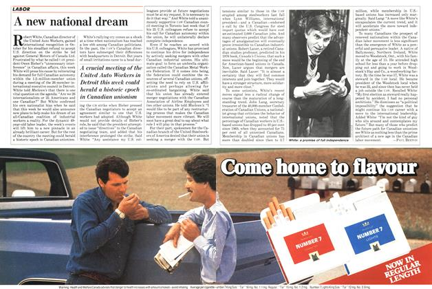 Article Preview: A new national dream, December 1984 | Maclean's