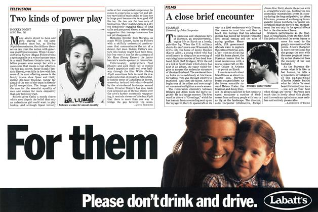 Article Preview: Two kinds of power play, December 1984 | Maclean's
