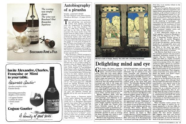 Article Preview: Delighting mind and eye, December 1984 | Maclean's