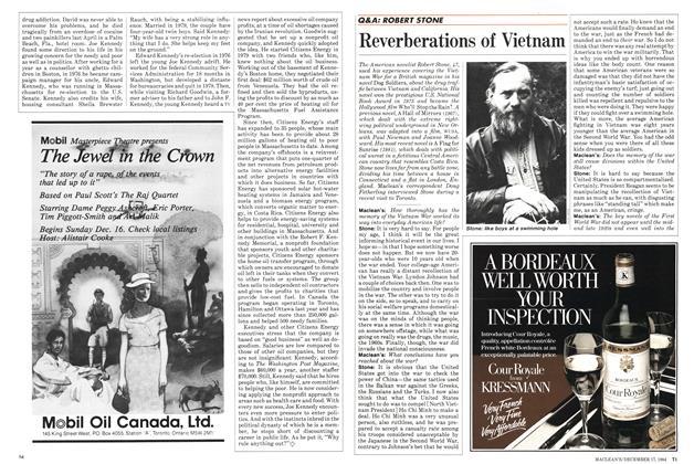 Article Preview: Reverberations of Vietnam, December 1984 | Maclean's
