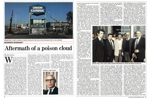 Article Preview: Aftermath of a poison cloud, December 1984 | Maclean's