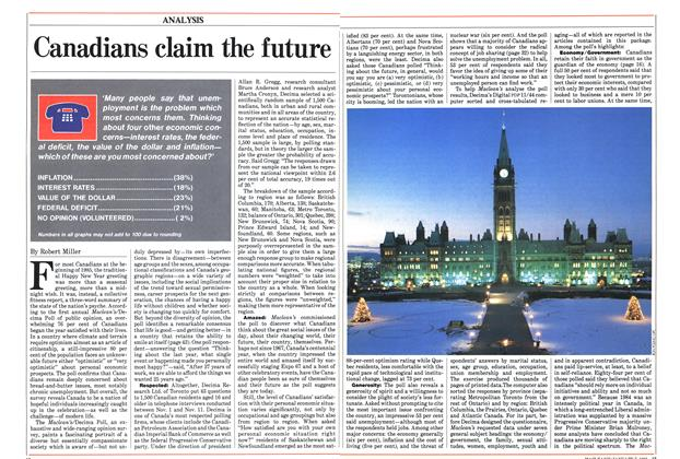 Article Preview: Canadians claim the future, January 1985 | Maclean's