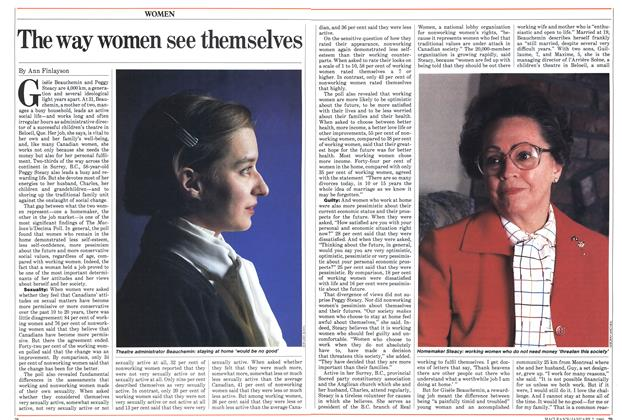 Article Preview: The way women see themselves, January 1985 | Maclean's