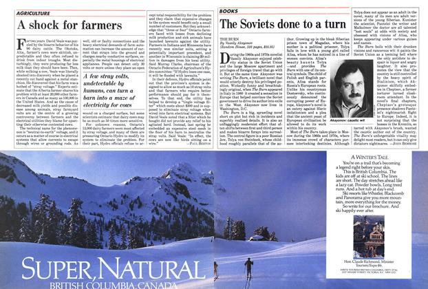 Article Preview: A shock for farmers, January 1985 | Maclean's