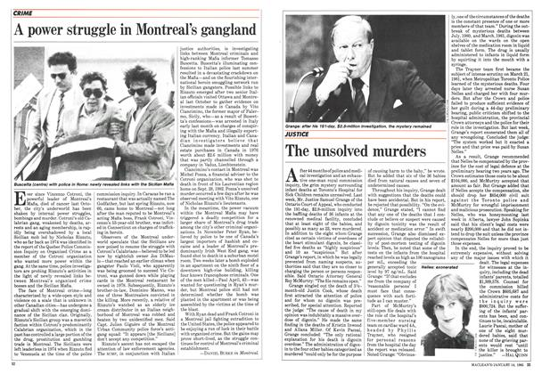 Article Preview: A power struggle in Montreal's gangland, January 1985 | Maclean's