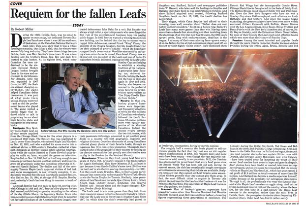 Article Preview: Requiem for the fallen Leafs, January 1985 | Maclean's