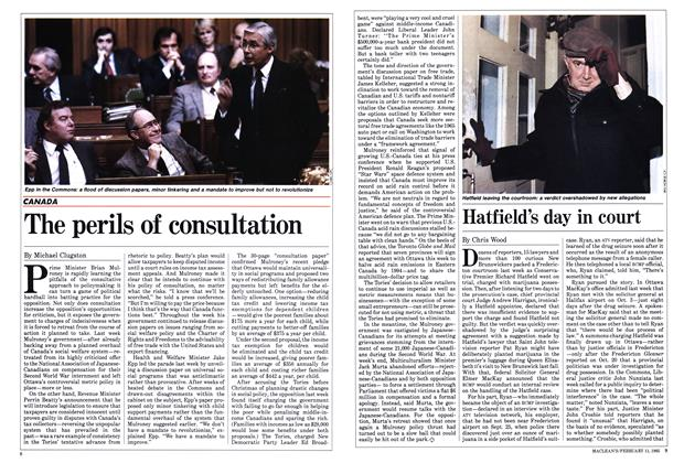 Article Preview: Hatfield's day in court, FEBRUARY 11,1985 1985 | Maclean's
