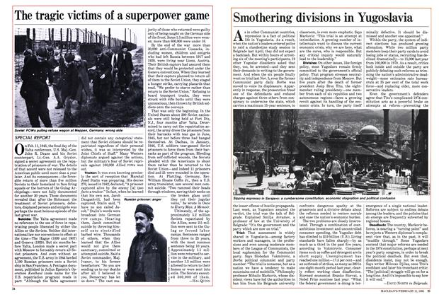 Article Preview: The tragic victims of a superpower game, FEBRUARY 11,1985 1985 | Maclean's