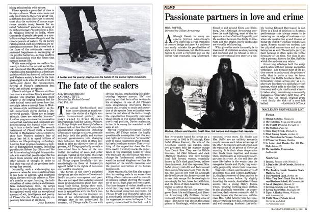 Article Preview: The fate of the sealers, FEBRUARY 11,1985 1985 | Maclean's