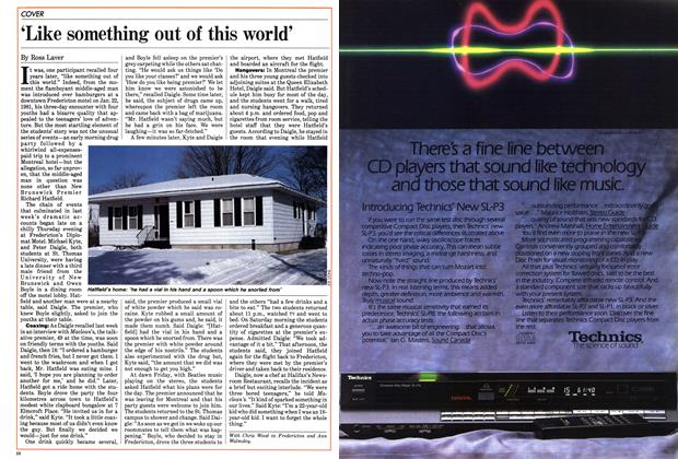 Article Preview: 'Like something out of this world', February 1985 | Maclean's