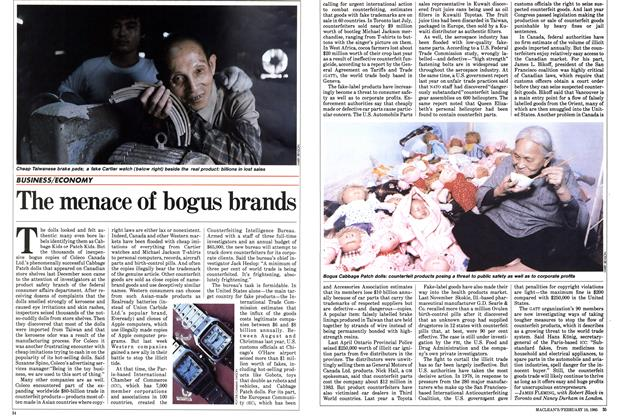Article Preview: The menace of bogus brands, February 1985 | Maclean's