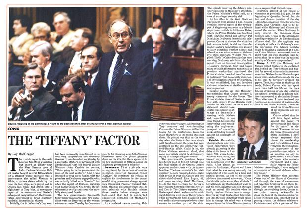 Article Preview: THE 'TIFFANT' FACTOR, February 1985 | Maclean's