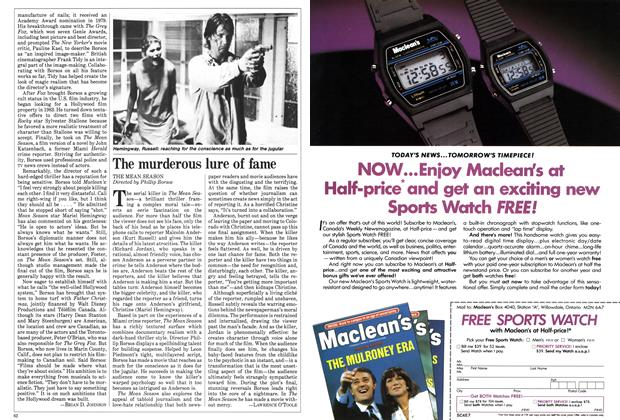 Article Preview: The murderous lure of fame, February 1985 | Maclean's