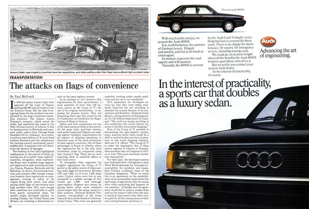 Article Preview: The attacks on flags of convenience, February 1985   Maclean's