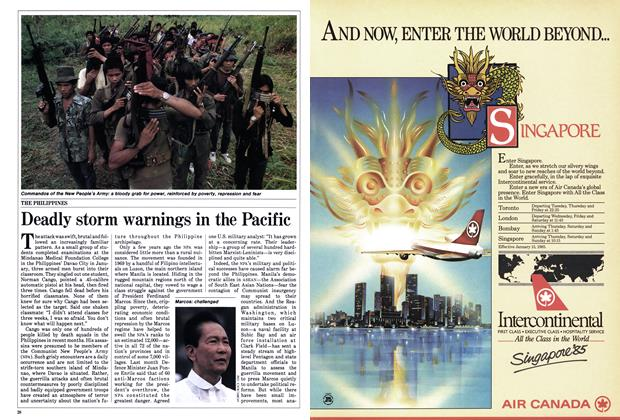 Article Preview: Deadly storm warnings in the Pacific, March 1985 | Maclean's