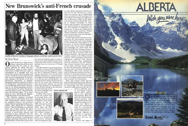 Article Preview: New Brunswick's anti-French crusade, March 1985 | Maclean's