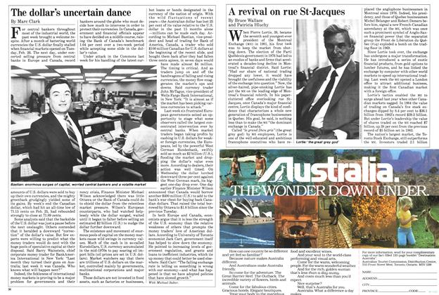 Article Preview: A revival on rue St-Jacques, March 1985 | Maclean's