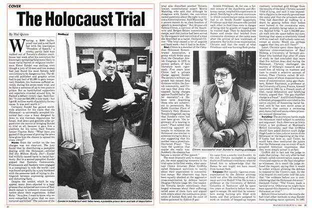 Article Preview: The Holocaust Trial, March 1985 | Maclean's
