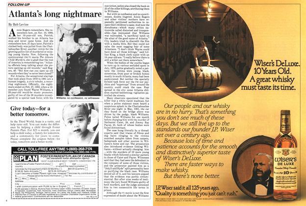 Article Preview: Atlanta's long nightmare, March 1985   Maclean's