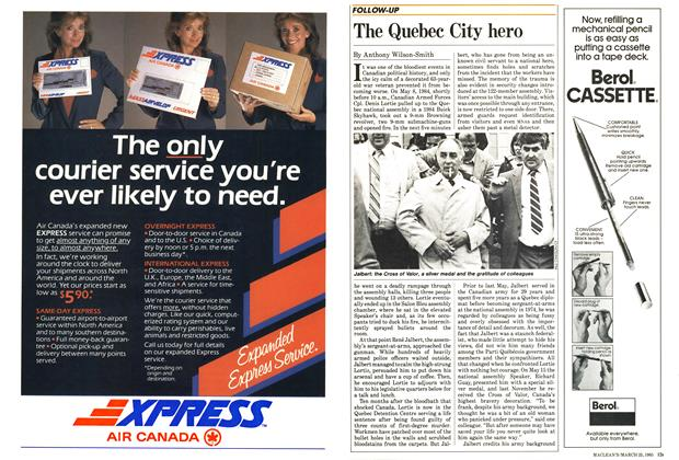 Article Preview: The Quebec City hero, March 1985 | Maclean's
