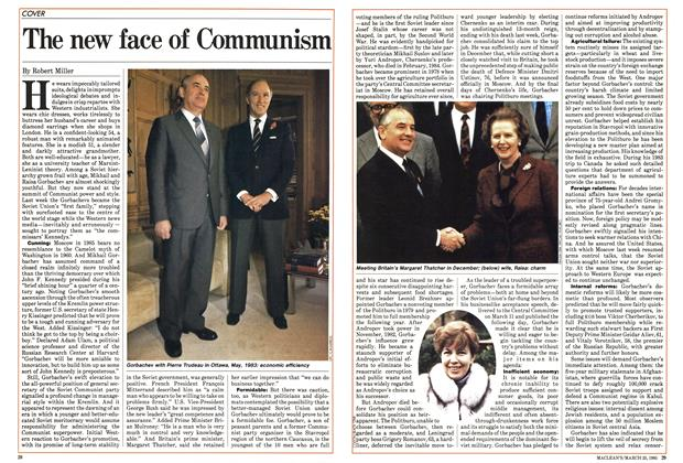 Article Preview: The new face of Communism, March 1985 | Maclean's