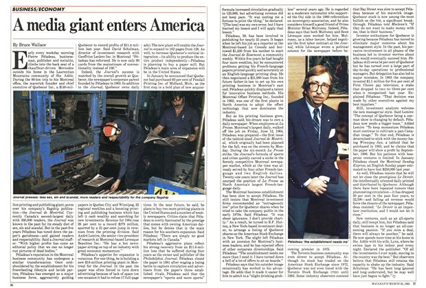 Article Preview: A media giant enters America, March 1985 | Maclean's