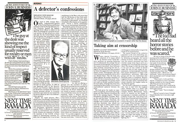 Article Preview: Taking aim at censorship, March 1985 | Maclean's