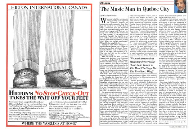 Article Preview: The Music Man in Quebec City, April 1985 | Maclean's