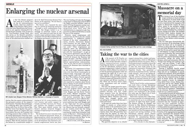 Article Preview: Massacre on a memorial day, April 1985 | Maclean's