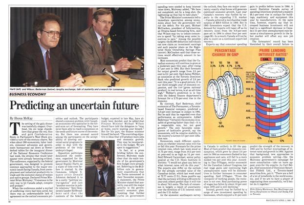Article Preview: Predicting an uncertain future, April 1985 | Maclean's