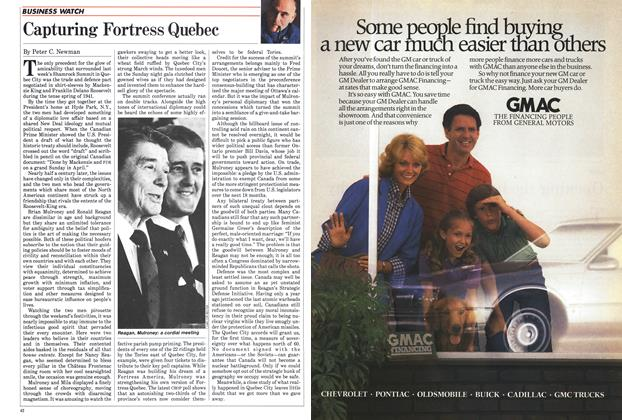 Article Preview: Capturing Fortress Quebec, April 1985 | Maclean's