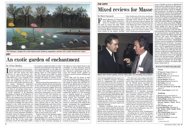 Article Preview: Mixed reviews for Masse, April 1985 | Maclean's