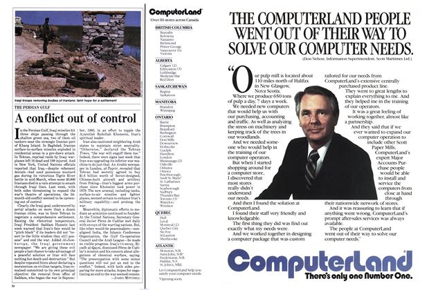 Article Preview: A conflict out of control, April 1985 | Maclean's