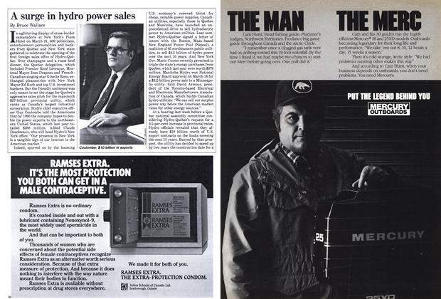 Article Preview: A surge in hydro power sales, April 1985 | Maclean's