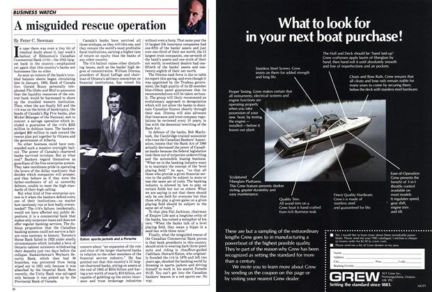 Article Preview: A misguided rescue operation, April 1985 | Maclean's