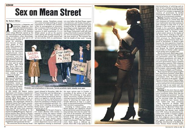Article Preview: Sex on Mean Street, April 1985 | Maclean's
