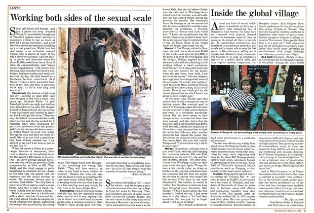 Article Preview: Inside the global village, April 1985 | Maclean's