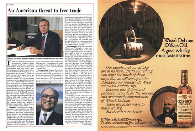 Article Preview: An American threat to free trade, April 1985 | Maclean's