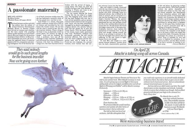 Article Preview: A passionate maternity, April 1985 | Maclean's