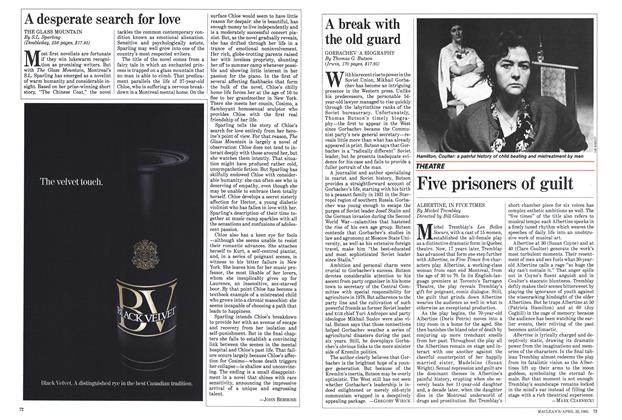 Article Preview: A break with the old guard, April 1985 | Maclean's