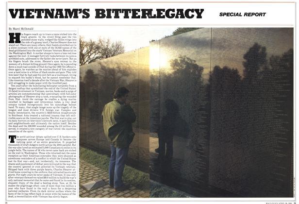 Article Preview: VIETNAM'S BITTER LEGASY, April 1985 | Maclean's