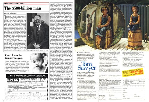 Article Preview: The $500-billion man, April 1985 | Maclean's