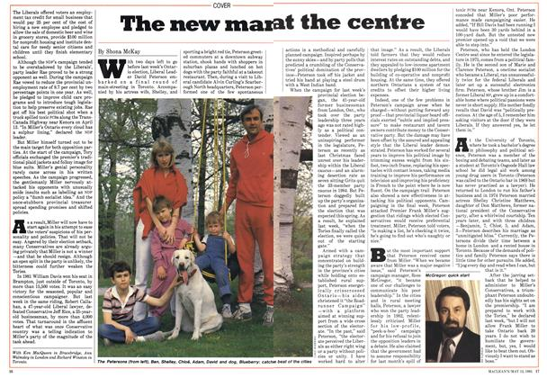 Article Preview: The new man at the centre, May 1985 | Maclean's